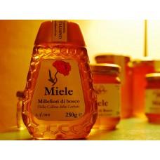 Il Tabarro Miele Millefiori di Bosco - 250 grammi Squeezable